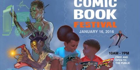 Black Comic Book Festival Jan 16