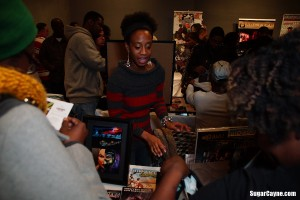 Regine Sawyer, 4th Annual Black comic Book day