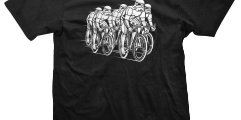 DHD Wear PELOTON-TROOPER-BIKE-TSHIRT-STORM-BLACK