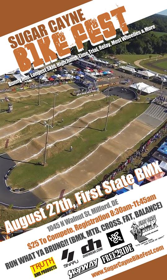 sugar cayne bike fest First State