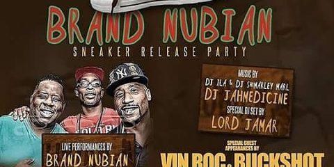 Brand Nubian Sneaker release party