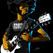 Jay Reed Afro Guitar