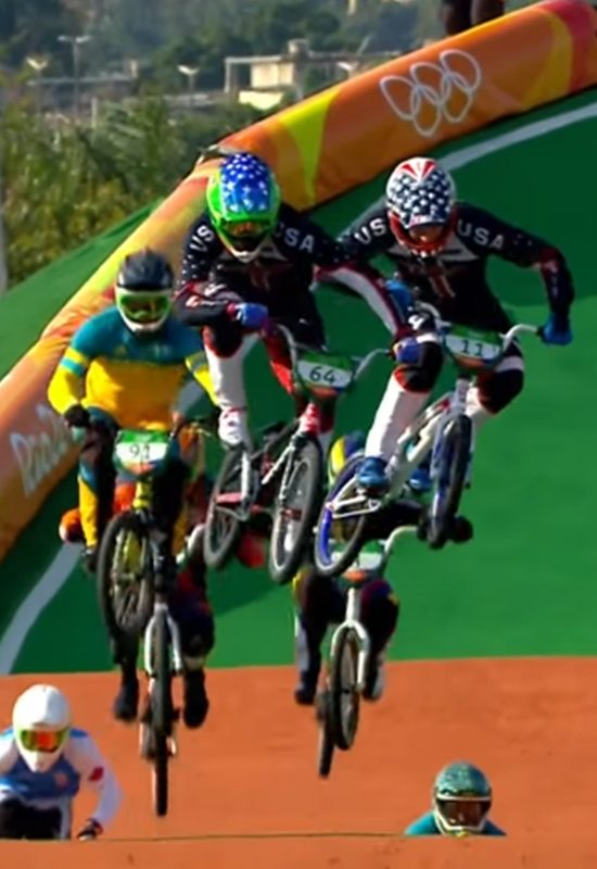 Nbc Only Show S Last Seconds Of Connor S Bmx Olympic Win On