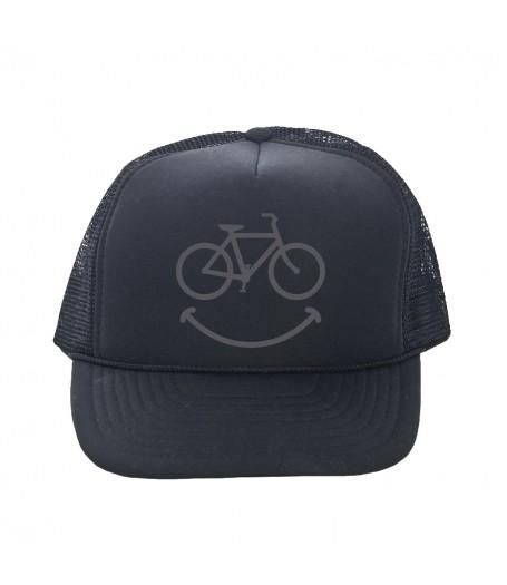 trucker hat smiley dhdwear