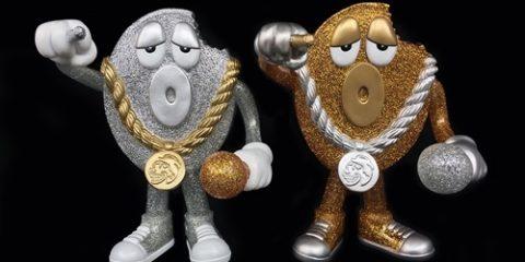 Delicious vinyl mr gold x silver glitter