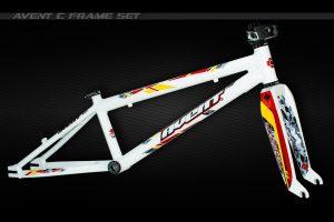 Avent C BMX frame set