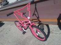 Zagmaster custom bmx bike