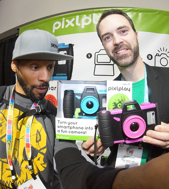 pixlplay, JP Stoops, toy fair ny