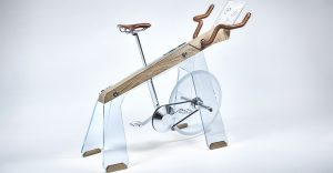 Fuoripista wooden Stationary Bike