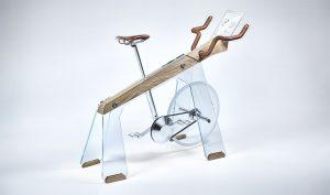 Fuoripista wooden Stationary Bike