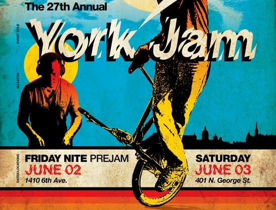 York Jam Flyer 2017