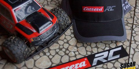 crrera profi, hat, stickers