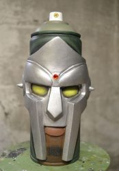 MF Doom, Spray can sculpture