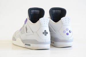 Air Jordan IV SNES US heel