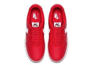 Nike AF1 Mini Swoosh University Red top