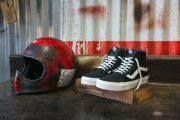 Vans Moto Leather Sneakers
