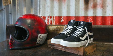 Vans Moto Leather Sneakers