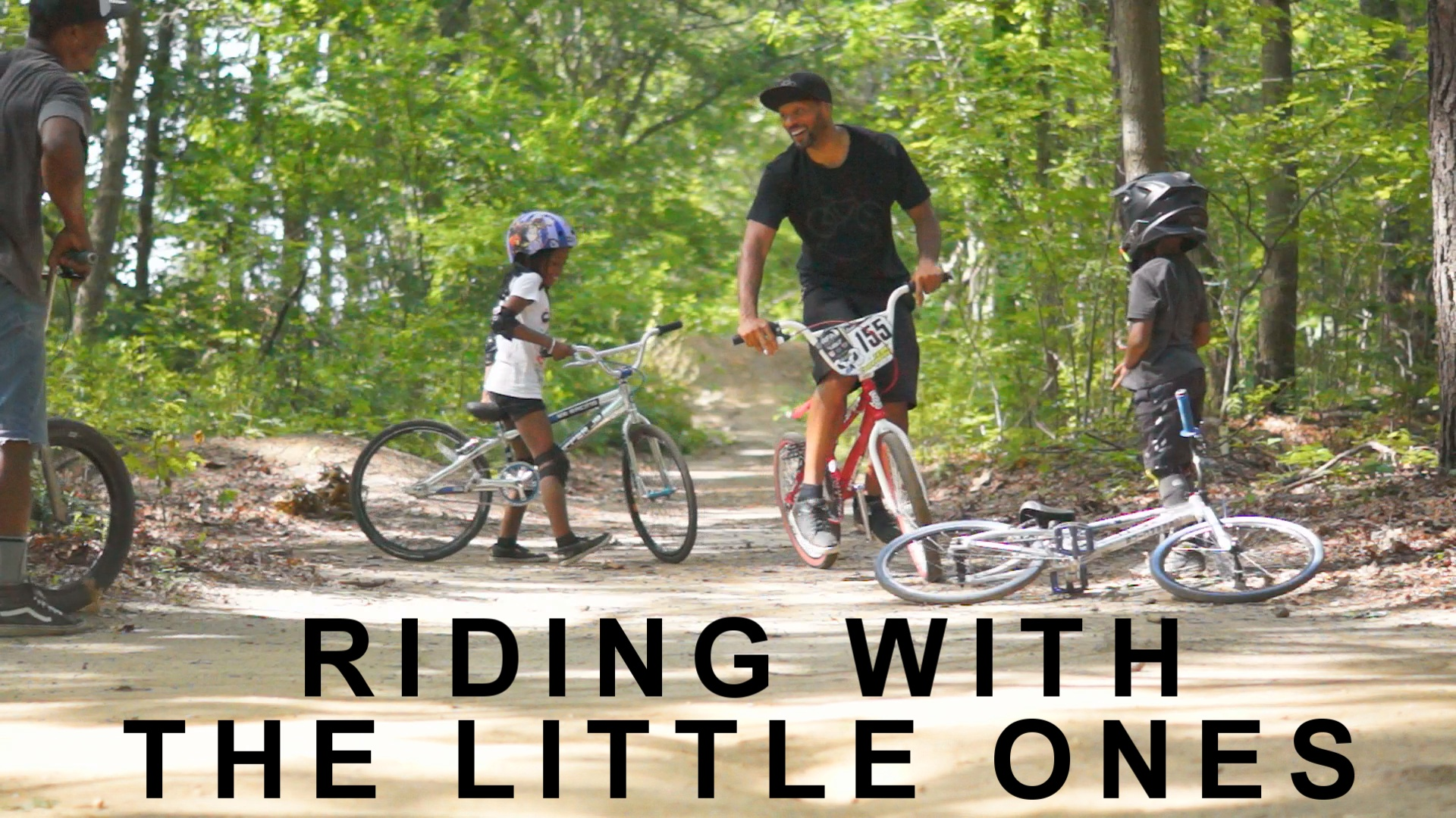 Riding With The Little ones