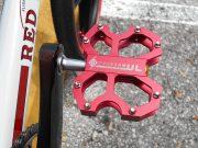 Redline 40th anniversary, pedals