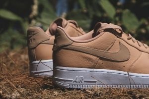 nike air force 1 Vachetta Tan heel