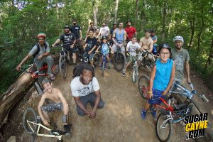 Cunningham Pump Track, group photo