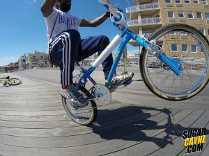 GT World Tour blue wheelie 2