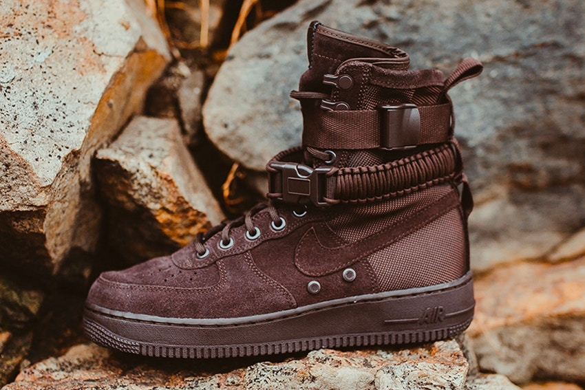 Nike SF-AF1 High velvet brown