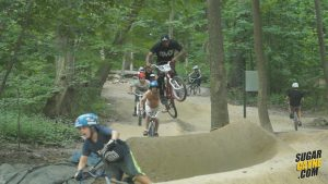 cunningham pump track, train