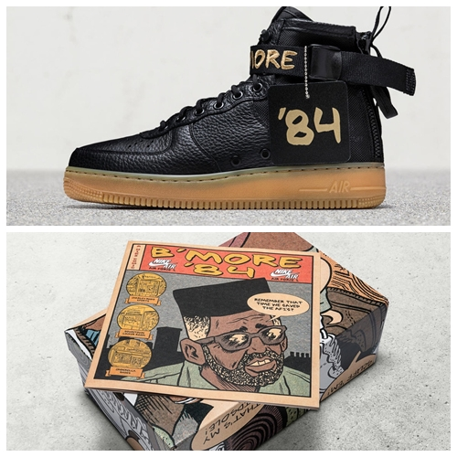 Nike For Baltimore SF-AF 1