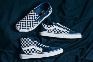 Vans Japan Indigo Checkerboard Pack