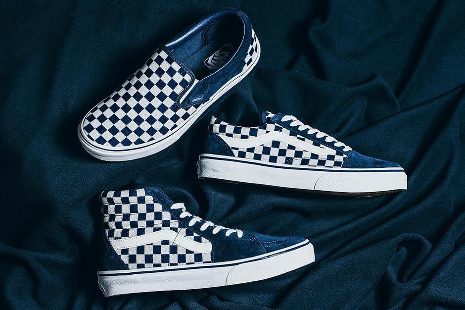 Vans Japan Indigo Checkerboard Pack