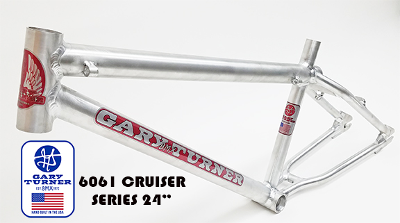 Gary Turner Alum 26 BMX racing Frame