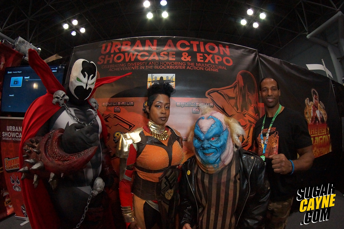 Urban Action Showcase nycc spawn