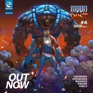 moon dust 4 comic book cover