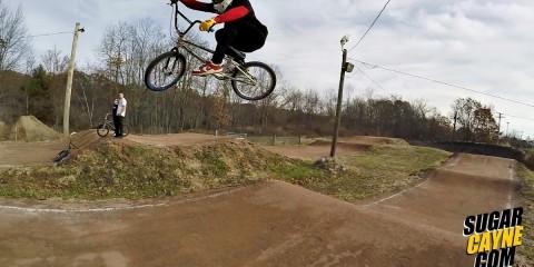 crazy al cayne BMX riding