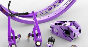 Box components Purple kit