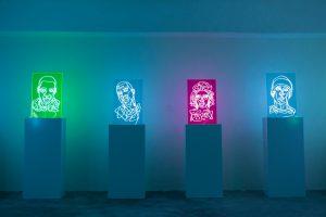 Neon rap Portraits gallery