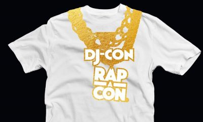 djcon rapacon t-shirt design