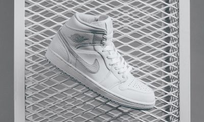 air-jordan-1-mid-white-pure-platinum sneakers