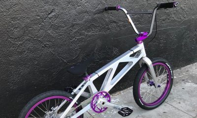 jayhawk bmx racing Silver Purple