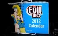 Evil Inc 2012 Calendar, brad guigar