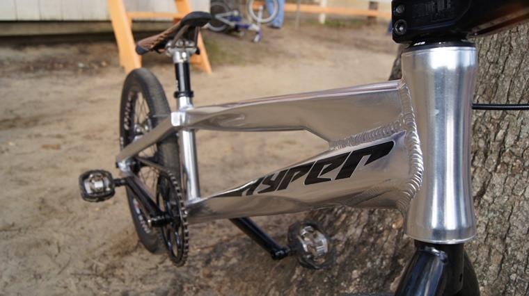 Hyper Bicycles Race Frame Prototype