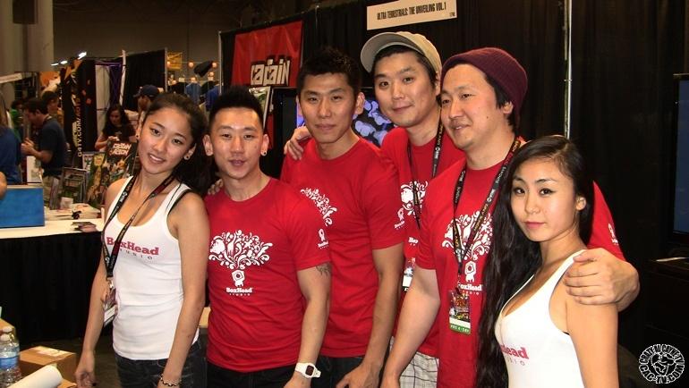 Box Head Studios, Ny York Comic Con