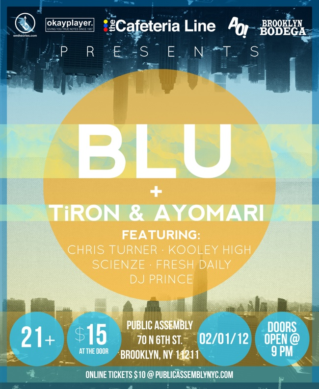 blu performance in NY