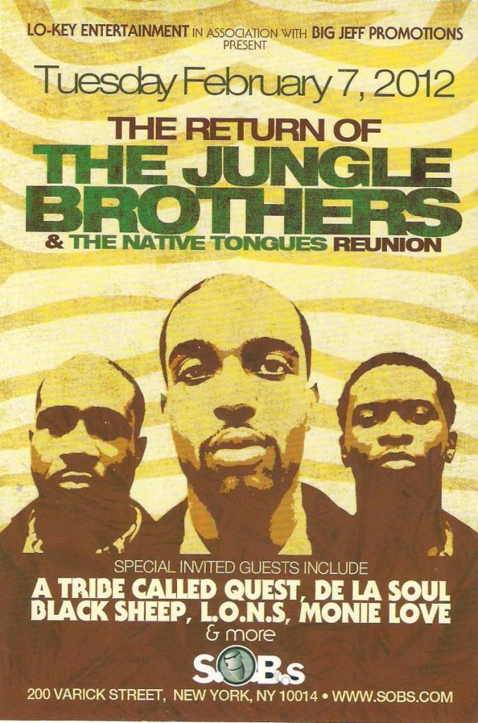 Jungle Brothers Reunion