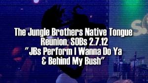 JBs I Wanna Do Ya, Behind My Bush