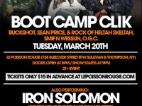 Boot camp Flier, HipHop