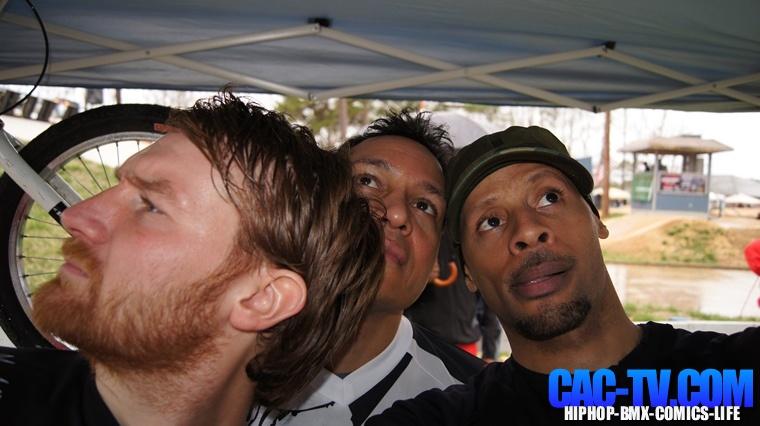 Dan, Nigel, Crazy Al Cayne, EHTBMX