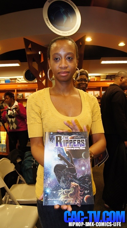 Regine Sawyer , The Rippers, Black Comic Book Day