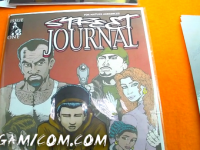 Street journal, Comic Book